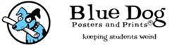 Blue Dog Posters